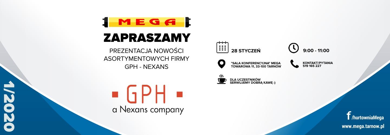 GPH a Nexans Company – Prezentacja nowości asortymentowych #1/2020