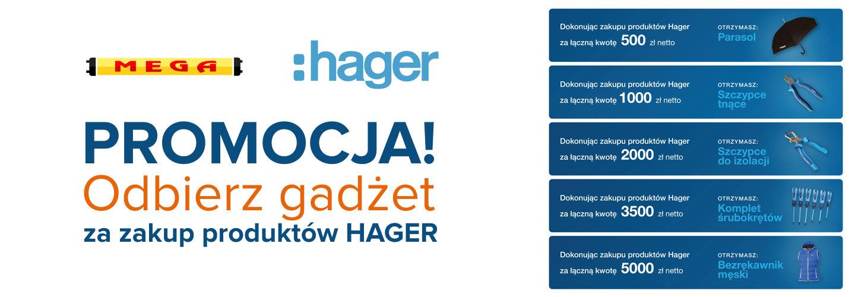 Promocja – odbierz gadżet za zakup produktów HAGER
