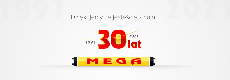 30-lecie działalności firmy MEGA